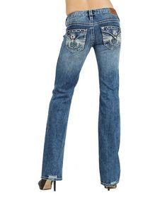 Another great find on #zulily! Indigo Stone Twilight Bootcut Jeans - Women #zulilyfinds