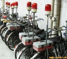 Japanese fire bike
