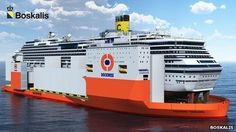 Huge salvage vessel may help lift Costa Concordia wreck