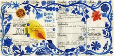 January Journal pages 2014   Flickr - Photo Sharing!