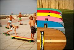 HAMBOARDS – combines Skateboarding & Surfing > Fashion / Lifestyle, Funny Shizznits, Sports, Streetstyle > beach, cali, concrete, open knees, skating, sunshine, surfing