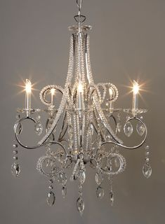 Isadora beaded chandelier - ceiling lights - All Lighting - Home, Lighting  u0026 Furniture-