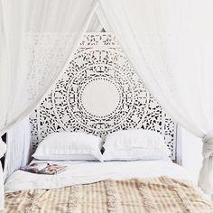 Boho princess bed