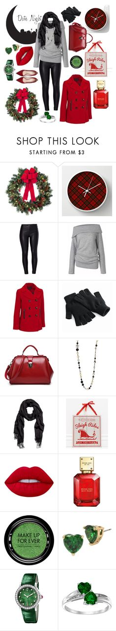 """""""sliegh ride date night"""" by katerunyon ❤ liked on Polyvore featuring Improvements, WALL, Venus, Care By Me, Chanel, Adams & Co., Lime Crime, Michael Kors, MAKE UP FOR EVER and Betsey Johnson"""