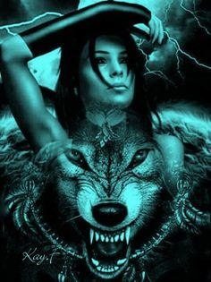 60 Ideas Tattoo Girl Wolf Werewolves For 2019