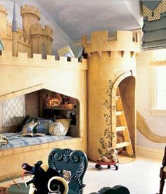 Castle room for a princess.