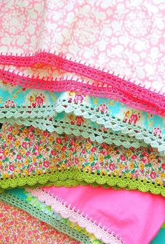 Crochet Pillow Case Ends