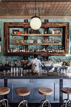 I haven't posted from this space in a long time.I forgot how swoon worthy that bar is! Smoke Restaurant, Mexican Restaurant Design, Mexican Bar, Deco Restaurant, Rustic Restaurant, Pub Design, Back Bar Design, Wine Bar Design, Bar 25