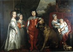 The children of Charles I of England-painting by Sir Anthony van Dyck in 1637 - 1600–50 in Western European fashion - Wikipedia, the free encyclopedia