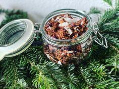 GRANOLA Exotique Cacao, Saveur, Granola, Acai Bowl, Breakfast, Food, Honey, Coconut Oil, Almonds
