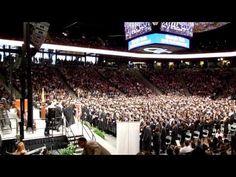 Georgia Tech Spring Commencement 2013 - Ramblin Wreck Fight Song - Adam's graduation