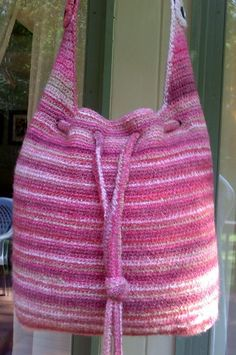 College Tote by Merri Purdy | Crocheting Pattern