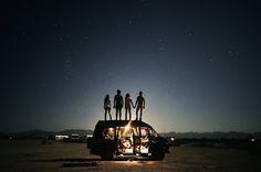 "© Théo Gosselin ""We Drink Gasoline"" roadtrip californien Michael Stipe, Paulette Magazine, Galerie D'art, Jolie Photo, Burning Man, The Great Outdoors, In This Moment, Illustrations, Explore"