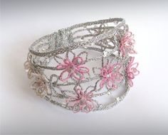 Product gallery with prices and photos. Lace Jewelry, Jewellery, Lace Art, Bobbin Lace, Cuff Bracelets, Decorative Boxes, Gallery, Creative, Accessories