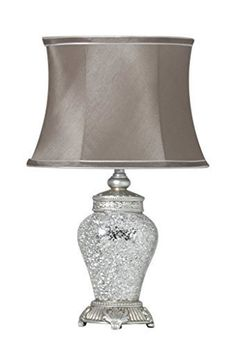 Large Regency silver Lamp With Unique Design is sure to turn heads its very stunning Buy Now GREAT OFFER