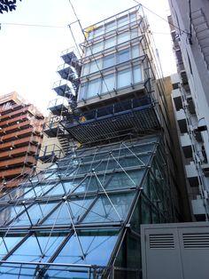 新宿歌舞伎町の、雑然とした雰囲気の中に、 超然とした感じで建つ建築。 .   林原第5ビル。 …