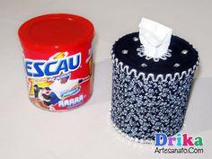 Top 5: modelos incríveis de porta papel higiênico de mesa Adult Crafts, Fun Crafts, Towel Animals, Bathroom Crafts, Denim Crafts, Decorated Jars, Vintage Pillows, Upcycle, Recycling