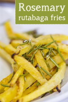 Try making these healthy rutabaga fries with @siriouslydelish's easy recipe.