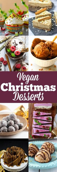 Are you looking for vegan desserts for Christmas? Look no further! I teamed up with a couple of my favorite blogger friends and I got an awesome collection of festive vegan desserts for you!