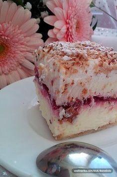 Francuska krempita s višnjama - Odlična! Bakery Recipes, Wine Recipes, Cookie Recipes, Dessert Recipes, Homemade Sweets, Homemade Cakes, Just Desserts, Delicious Desserts, Kolaci I Torte