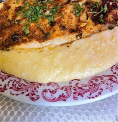 Cajun Fish and Savory Cheese Grits | Divas Can Cook -- SO GOOD!