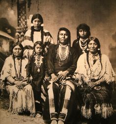 F. M. SARGENT - Chief Joseph and his family