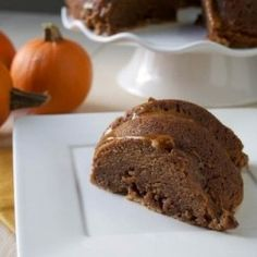 Pumpkin Nutella Pound Cake 2 of my fav things!! Life is good! Going to skip the glaze lol
