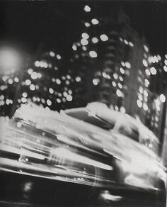 ph. Ted Croner  Taxi, New York Night 1947