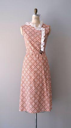 1930s handmade Shilly-Shally dress.