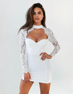 Bustier Dress // Show off this masterpiece at your next night out with the girls. - Bustier Dress // Show off this masterpiece at your next night out with the girls and heads will be - Club Dresses, Sexy Dresses, Evening Dresses, Fashion Dresses, Mini Dresses, Party Dresses, Bustiers, Tie Front Dress, Bustier Dress
