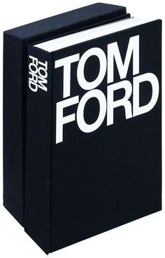 Pin for Later: 50 Stylish Gifts That Are All-Black Everything Tom Ford Coffee Table Book ($135)