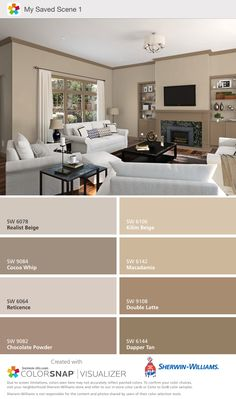 Home Decoracin Ideas Living Room Paint Colors Sea Salt 53 Trendy Ideas Bedroom Paint Colors, Paint Colors For Home, Living Room Colors, Wall Colors, House Colors, Teal House, Taupe Paint Colors, Interior Paint Colors For Living Room, Beige Living Room Paint