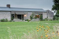 River Ranch Residence : Casas campestres por Hugh Jefferson Randolph Architects