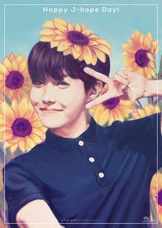 Jhope Birthday Fanart ♥♥♥