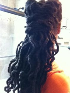 Love these thick long locs!