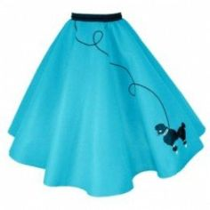 Makin a 50's style circle poodle skirt is a fun DIY project in making your own pattern. It is also a good math lesson in understanding the basic mathmatics of drawing circles.