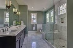 Image result for white rustic master bath