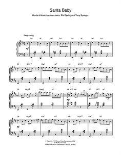 Eartha Kitt: Santa Baby (jazz version)