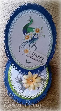 Mother's Day Peacock Card by RJP111 - Cards and Paper Crafts at Splitcoaststampers