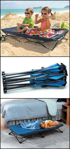Do you spend a lot of time outdoors with your kids? Then this portable cot bed for kids would come in handy for such activities.   http://amzn.to/1RQhP0r  It's quick and easy to set up, move around or collapse. It can fit in most spaces including the overhead luggage compartment of a plane. Plus, it's so light that even your little ones wouldn't mind carrying it!  Perfect for traveling, outings, sleepovers or simply lounging around the house!  Want one?