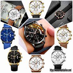 Sport Watches, Watches For Men, Leather Watch Bands, Make A Gift, Stainless Steel Case, Rolex Watches, Nfl, Quartz, Military