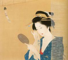 女性の何気ない美しさ。伊勢生まれの女流画家・伊藤小坡の描いた日常生活の中の美人達 | ARTIST DATABASE/アーティストデータベース