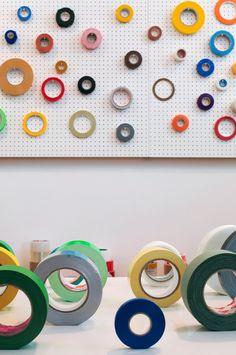 """Jasper Morrison's """"Tapes of the World"""" exhibit"""