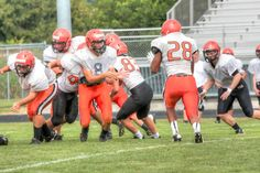 Scrimmage 8/17/2013-Sophomore year