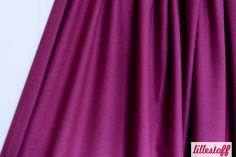 Lillestoff » Jersey boysenberry « // hier erhältlich: http://www.lillestoff.com/jersey-boysenberry-727.html