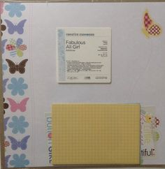 New Creative Memories FABULOUS ALL GIRL Additions 12 X 12