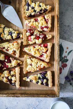 Einfacher Streuselkuchen mit Obst Streuseltarte Rezept backrezept streusel machen zuckerzimtundliebe foodblog himbeerkuchen erdbeerkuchen blaubeerkuchen aprikosenkuchen kirschkuchen backblog