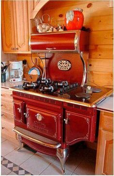 Old fashioned stove