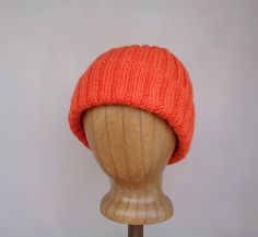 Hypoallergenic and Made with All Natural Dyes. Handmade Cable Knit Baby Alpaca Beanie