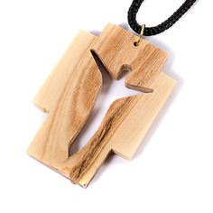 Wooden Necklace, Wooden Earrings, Wooden Jewelry, Cool Laser, Wooden Crosses, Cross Art, The Cross Of Christ, Woodworking Projects Diy, Pallet Projects